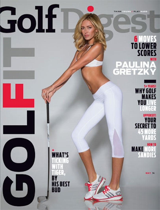 LPGA Golfers Miffed At Paulina Gretzky's Golf Digest Cover
