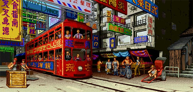 The Best Animated Backgrounds Of 2D Fighting Games