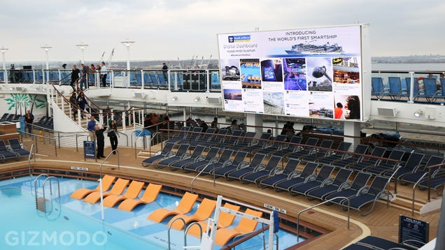 The World's Most Futuristic Cruise Ship Made Me Miss the Past
