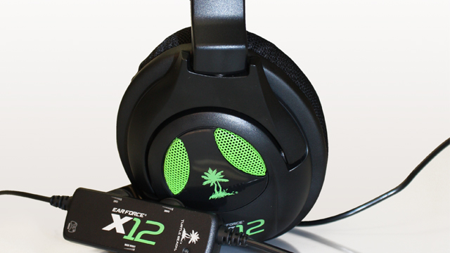 The Turtle Beach Ear Force X12 Headset Packs Quite an Audio Punch for Gamers