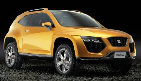 Seat Tribu Concept: Crossover Without a Cause