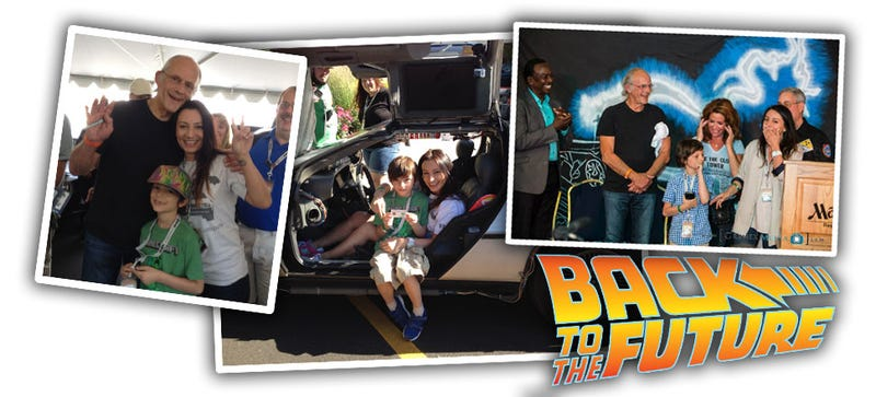 Super Mom Takes DeLorean-Crazed Son From Russia To Ohio Just To See Cars