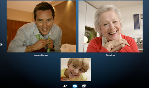 Skype Beta Adds Group Video Chat