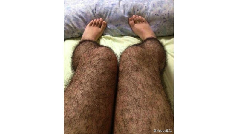 Hairy Tights Are Maybe a Thing; Leg Hair Phobia Is Definitely a Thing