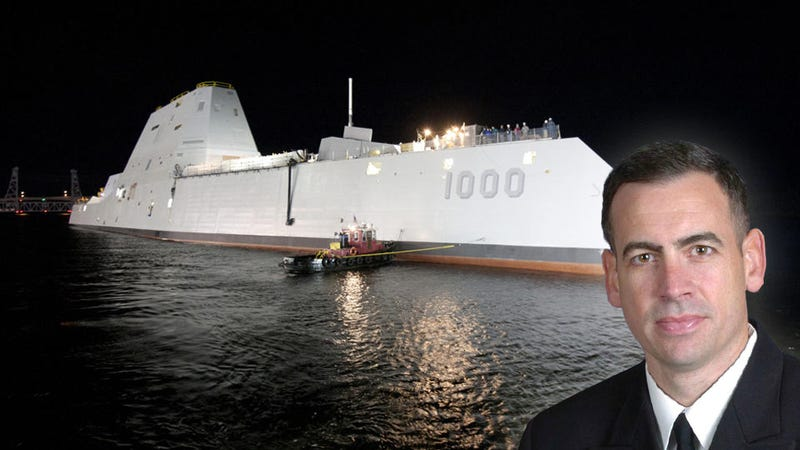 Captain Kirk Will Command America's Newest Stealth Destroyer