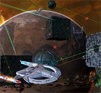 Space Combat In Star Trek Online