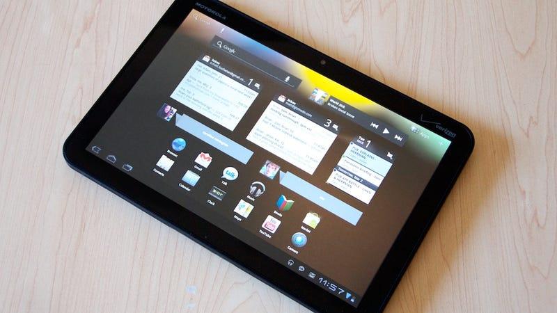 Refurbished Motorola Xoom Tablets Still Held Original Users' Data