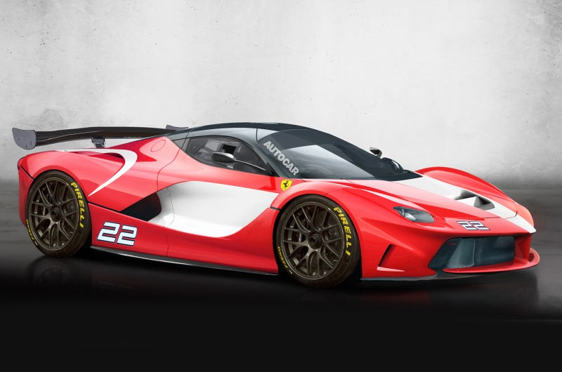 What Would You Like to See in the Hardcore LaFerrari?