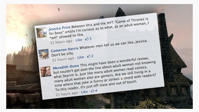 If You Say The Elder Scrolls Isn't For Women, This is What Happens...