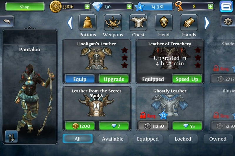 The iPhone's Answer to Diablo Gets A Free Horde Mode