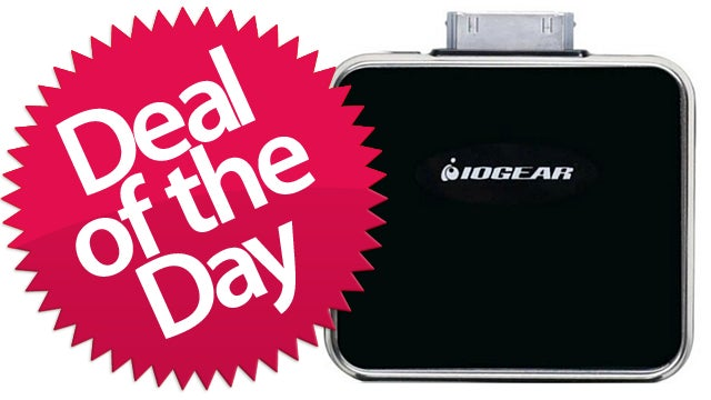 IOGEAR iPhone/iPod Portable Battery Pack Is Your Emergency-Juice Deal of the Day