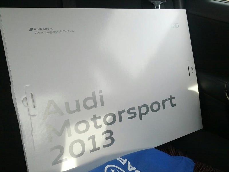 Messing with Audi/VW at NAIAS
