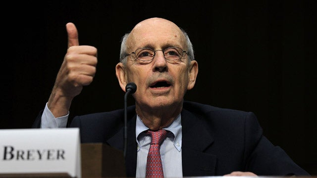 Supreme Court Justice Stephen Breyer Was Robbed at Machete-Point