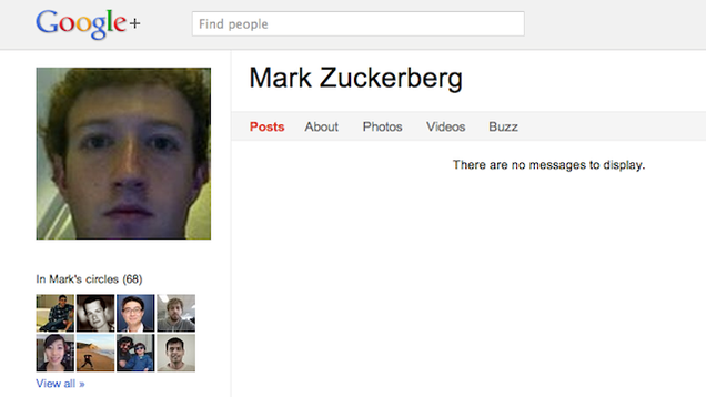 Zuckerberg Is the #1 Most Popular Person! (On Google+)