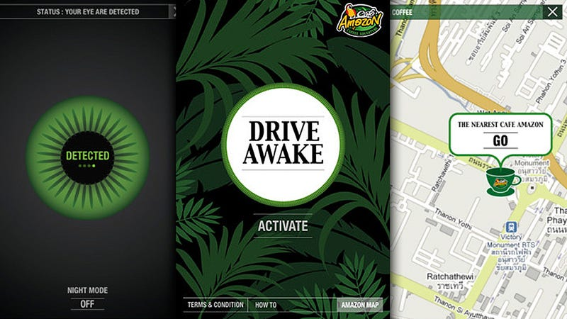 Drive Awake iOS App Can Tell When You're Drowsy, Directs You to Coffee