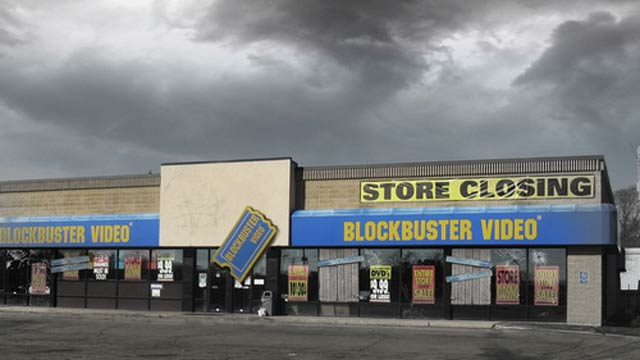 RIP Blockbuster (Or: Why Can't I Watch Indiana Jones?)