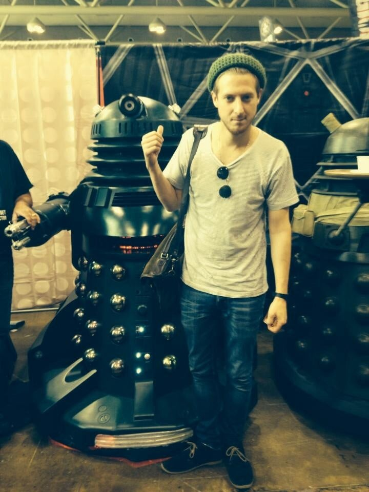 Rory and the Daleks (and K9, too)