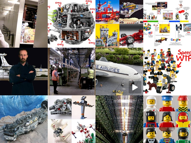 The Best Lego Stories of 2008