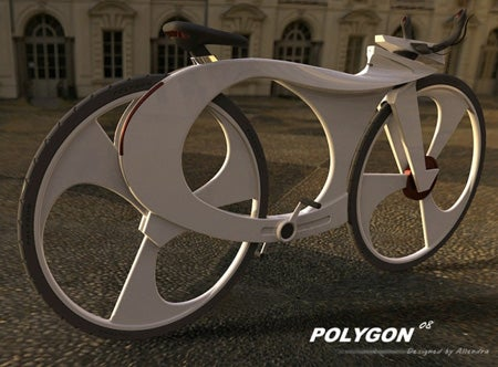 Polygon Bike Has Integrated iPod Charger