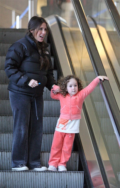 Pregnant Punky Brewster's Pink-Clad Cutie