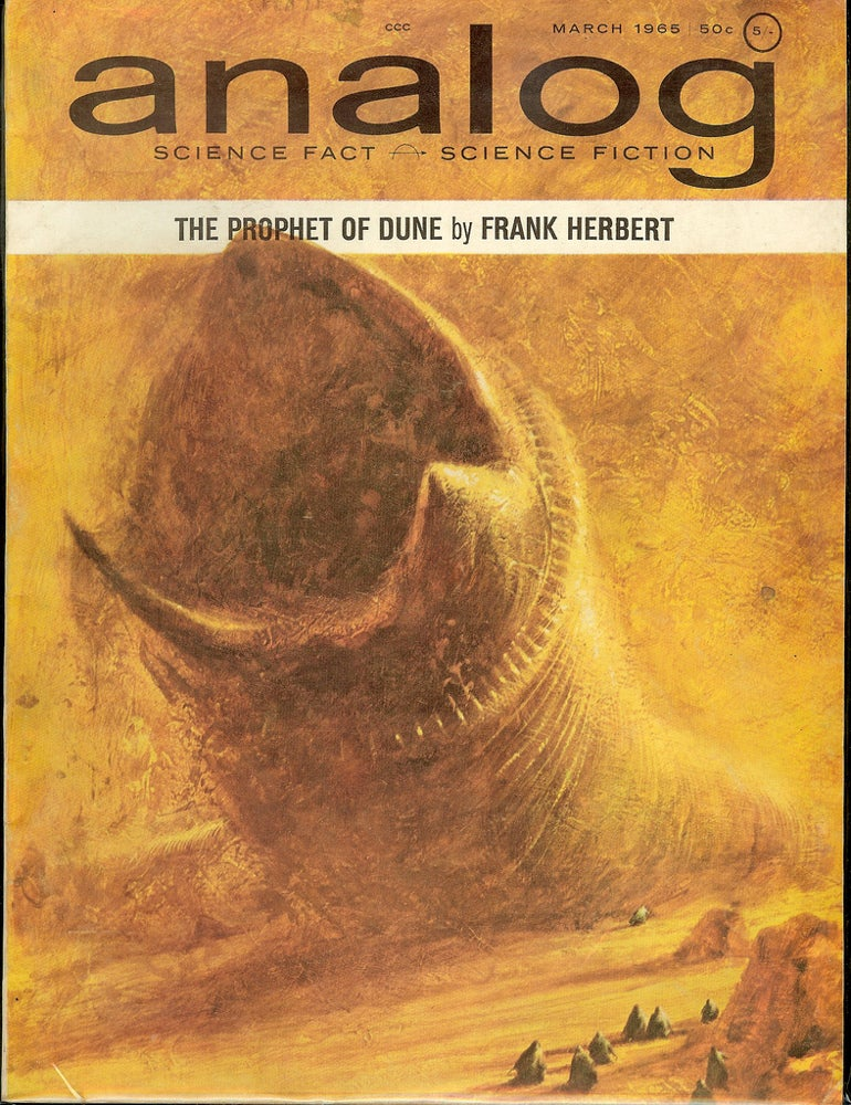 This Dune cover art just sold for $26,000