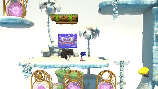 There's a Little Extra Classic Sonic Lurking in Sonic Generations