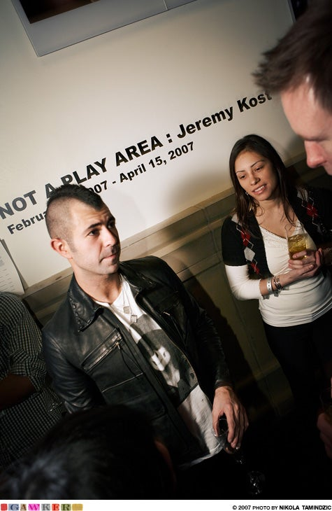 Team Party Crash: Jeremy Kost: 'Not a Play Area' @ Soho Grand