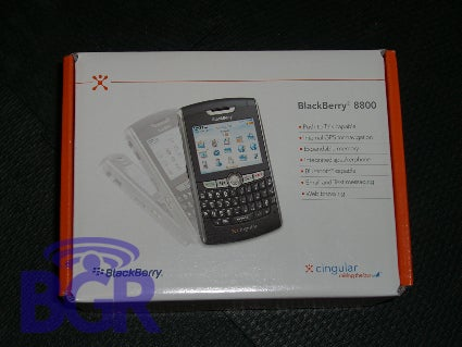 Cingular BlackBerry 8800 in Stores