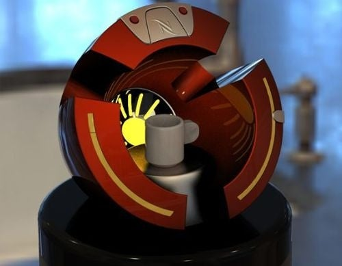 Caffe Inn: The Espresso Machine That's Right at Home On Tony Stark's Chest