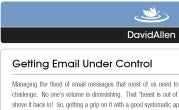 Download a Free Copy of David Allen's Email Rules