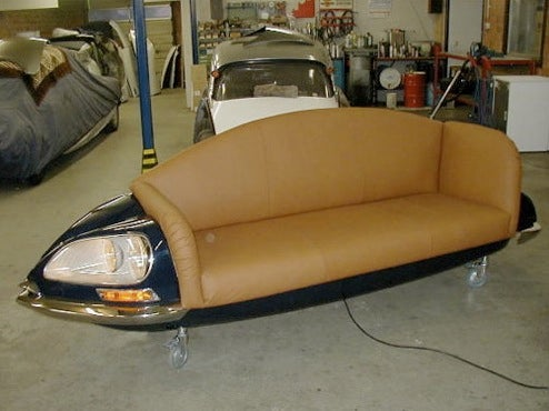 Sit Back And Relax On A Citroen DS Couch
