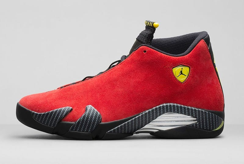 Hideous $200 Ferrari Air Jordans Will Have You Puking Brand Synergy