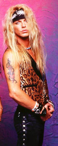 20 Years Of Bret Michaels' Hair