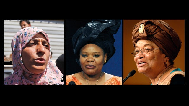 Three Female Leaders Win Nobel Peace Prize