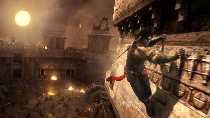 The Latest Prince of Persia Plays With Solid Water and Flexible Time