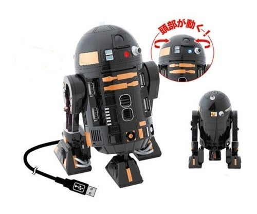 R2-Q5 USB Hub for Those Who Think R2-D2 Is Too Mainstream