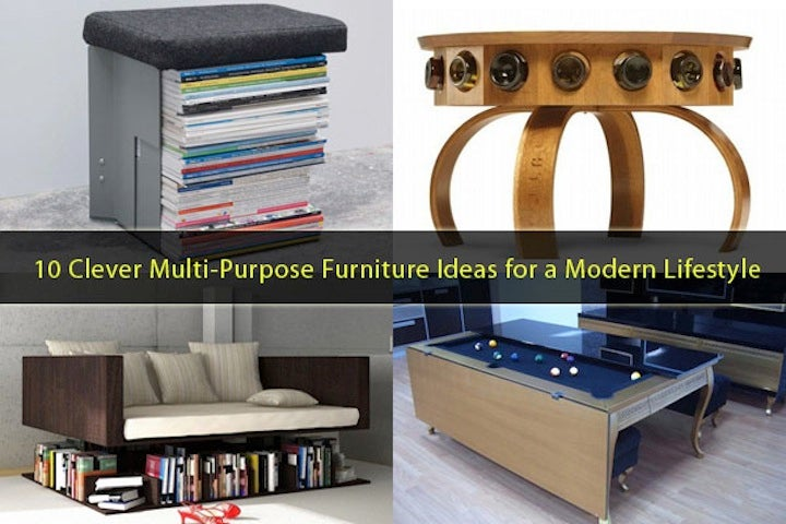 10 Pieces of Furniture You Probably Don't Need But Should Look at Anyway