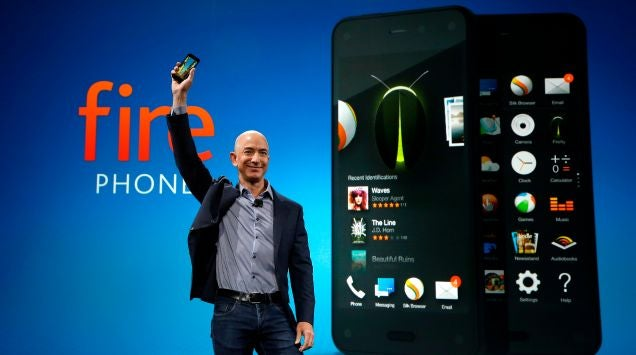 Amazon insiste: lanzará nuevos Fire Phone