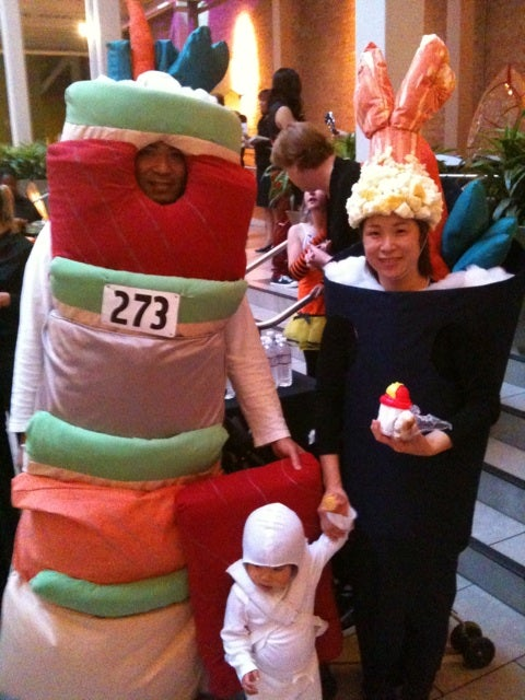 Sushi People Attack the LucasFilm Halloween Party