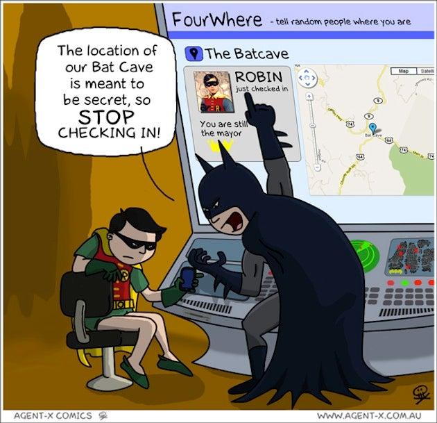 Foursquare Could Take Down Even Batman
