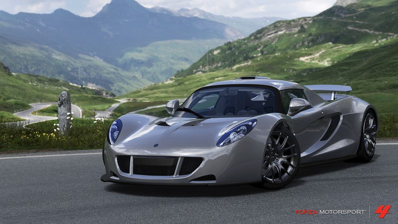 """The Forza 4 """"Top Gear Car Pack"""" Has A Van And A Venom"""