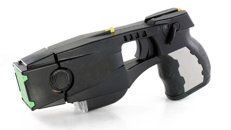 Government: Tasers Are Totally Safe! (Unless You're Drunk, Crazy, or Stressed Out)