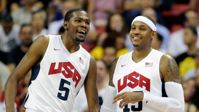 Playing Basketball For Team USA Sure Seems Like Fun