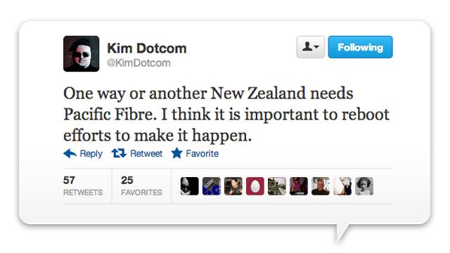 Haha, Kim Dotcom Wants to Build an Underwater Broadband Pipeline