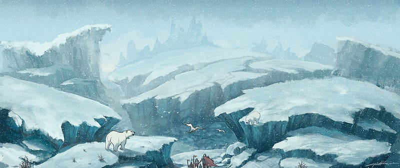 Tony Holmsten's Video Game Art Is a Final Fantasy