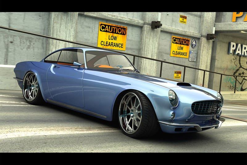 600 HP V8-Powered Volvo P1800 Re-imagined By Koenigsegg Engineer