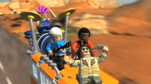 LEGO Rock Band Launch Trailer Looks Vaguely Familiar