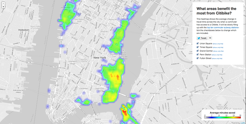 An Interactive Map That Collects the Wisdom of NYC's Cycling Masses