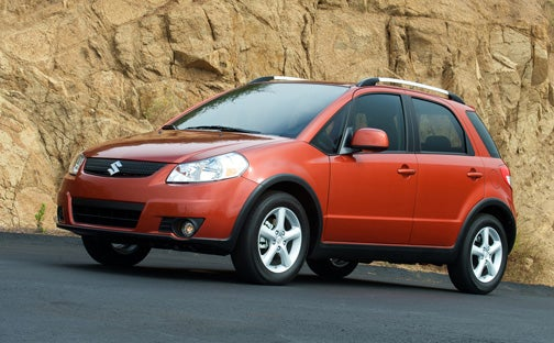 Suzuki Offers SX4 Buyers Free Summer Gas