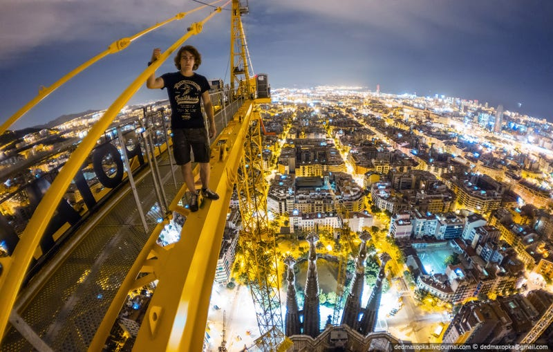 Crazy Russian Climbers Snap Breathtaking Shots from European Landmarks